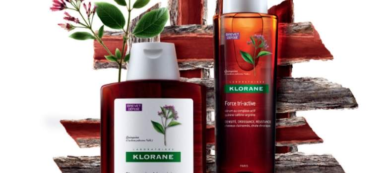 Klorane QUININE: O gama completa pentru par puternic si rezistent