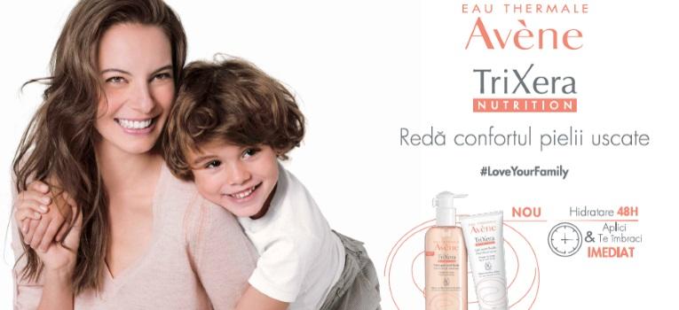 Avene lanseaza o noua formula inovatoare pentru pielea uscata a intregii familii