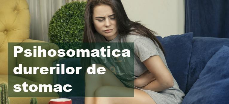 Psihosomatica durerilor de stomac: Atunci cand inconstientul arde