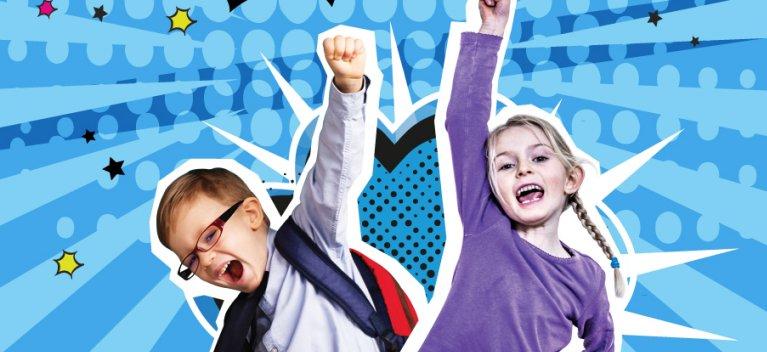 Se pregateste o noua generatie - una de eroi! Campanie internationala la care participa si copiii din Romania