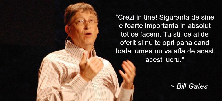 Bill Gates: Top 10 reguli INSPIRATIONALE ale succesului!