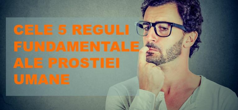 Carlo M. Cipolla: Cele 5 legi fundamentale ale PROSTIEI UMANE