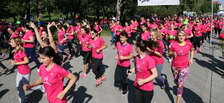 Campioana olimpica Ana Maria Branza sustine supravietuitoarele cancerului de san