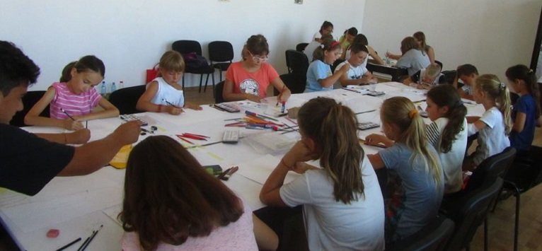 Tabara de Vara pentru copiii Sulinei: Perspective noi in viata prin intermediul culorilor