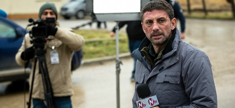 Andi Vasluianu, despre ultimul sau film - 'Breaking News'