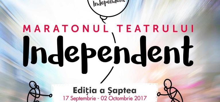 Incepe a 7-a editie a Maratonului Teatrului Independent