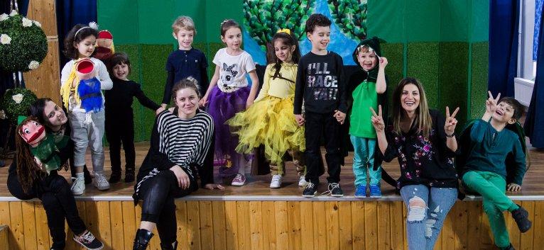 Actrita Ioana Ginghina da startul cursurilor de actorie pentru copii