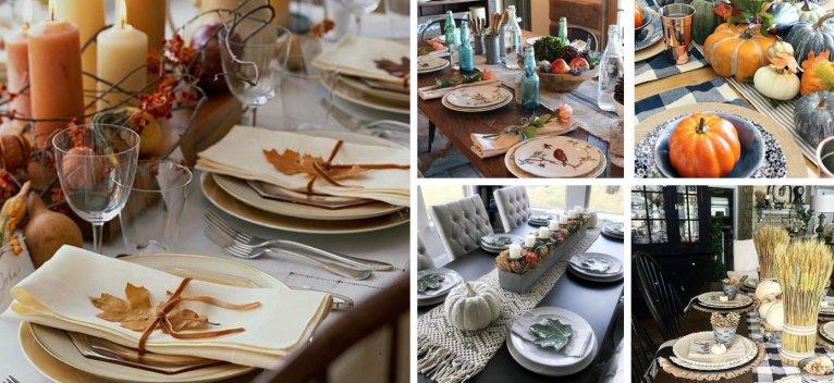 Cum sa iti decorezi masa in aceasta toamna ca sa fie Senzationala: 16 Super Idei!