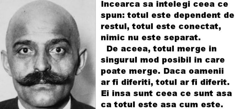 G.I. Gurdjieff: 23 de Citate intrigante si revolutionare, care te vor imbogati pe viata