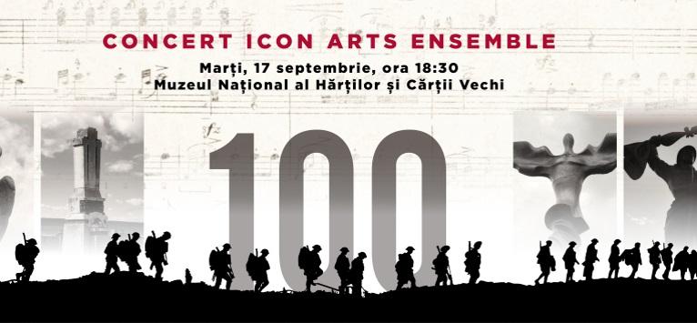 Concert in prima auditie in memoria eroilor din Primul Razboi Mondial
