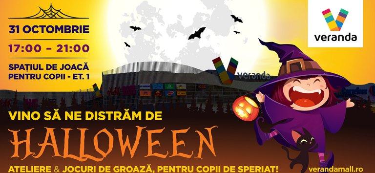 De Halloween, copiii se distreaza la Veranda Mall