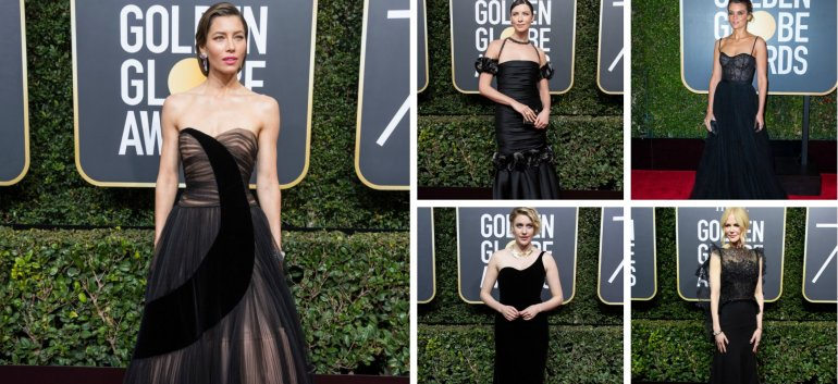 Globurile de Aur 2018: 31 de rochii superbe ale vedetelor, TREBUIE sa le vezi!