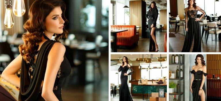 Noir Absolu - colectie superba de rochii de seara