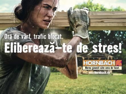 HORNBACH vesteste primavara prin noua campanie de publicitate: 'Elibereaza-te de stres!'