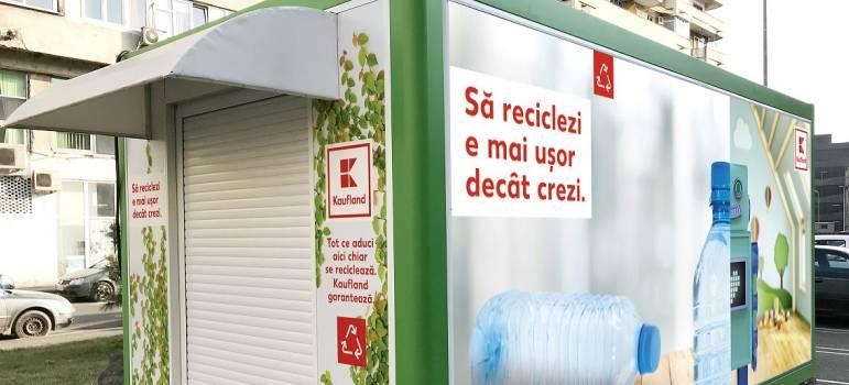 Kaufland Romania isi doteaza magazinele cu automate de reciclare a ambalajelor si rasplateste clientii care le folosesc