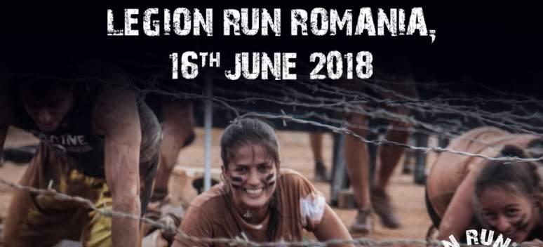 Pe locuri, faceți echipă - Legion Run România 2018!