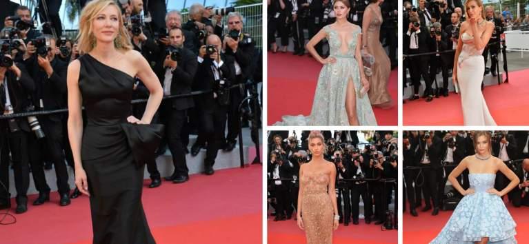 Cannes 2018: 20 de rochii ale vedetelor care au făcut senzație pe covorul roșu