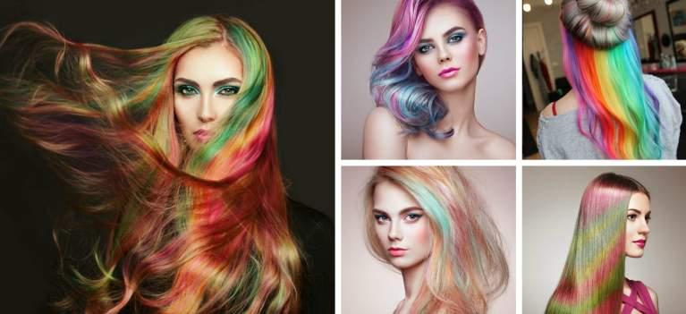 Părul curcubeu: 19 idei de hairstyling care pur și simplu te hipnotizează, te vei îndrăgosti de ele