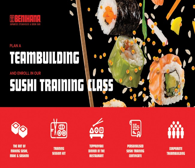 "Sheraton Bucuresti lanseaza ""Sushi Training Classes"""