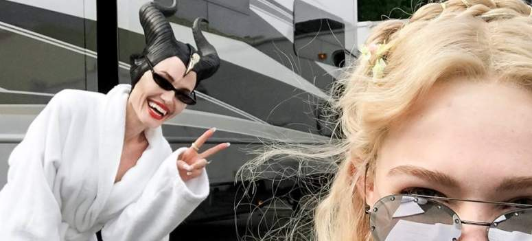 Angelina Jolie revine pe marile ecrane in Maleficent II