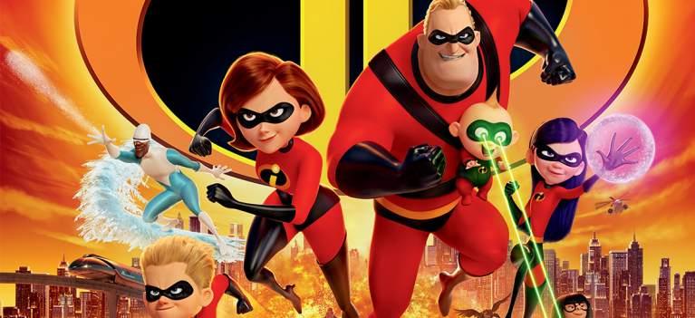 'Incredibles 2 /Incredibilii 2' o noua aventura de familie pentru iubitorii de animatii cu super eroi