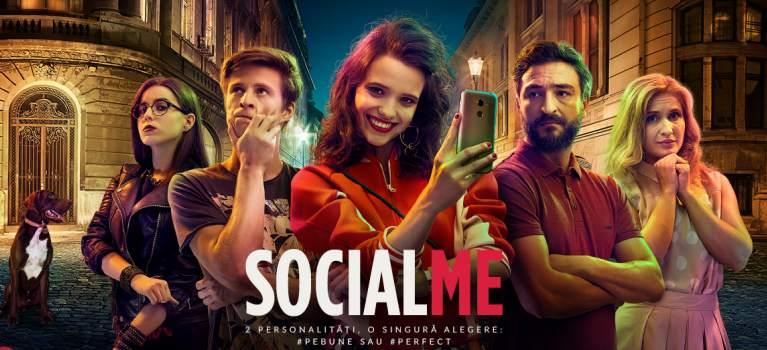 Serialul SOCIAL ME - o poveste despre lupta dintre realitate si social media in viata tinerilor