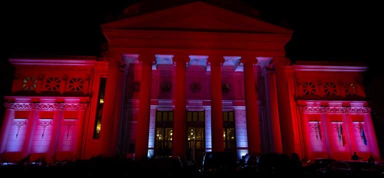 10 clădiri istorice, iluminate în cadrul proiectului 'Mă vezi? 1918 într-o altă lumină'