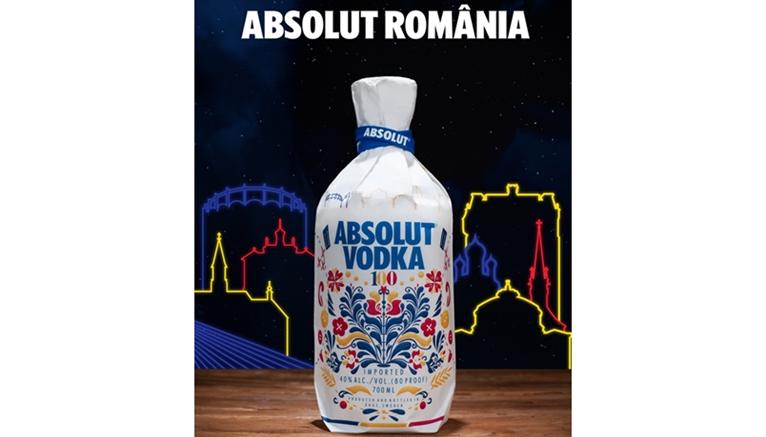 ABSOLUT se imbraca in primul design de inspiratie romaneasca