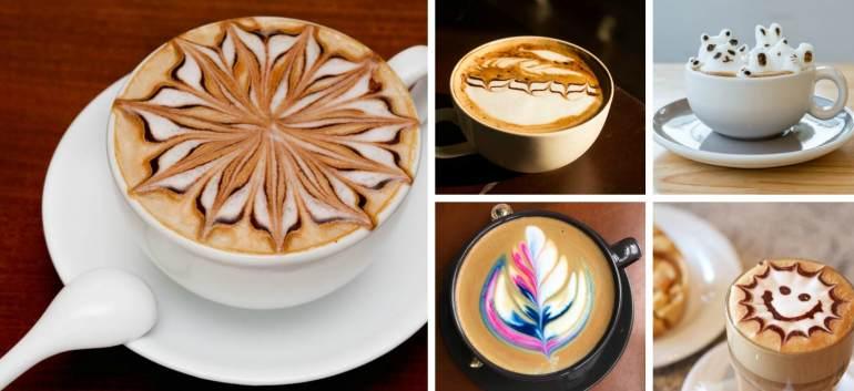 Arta in ceasca de Cafea: 23 de imagini cu Picturi desavarsite In Cafea ☕☕☕