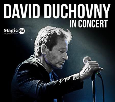 Întâlnește-l față în față pe David Duchovny!