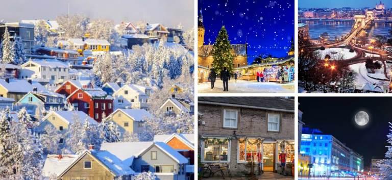 6 destinații alternative de Sărbători în care poți petrece un Crăciun magic