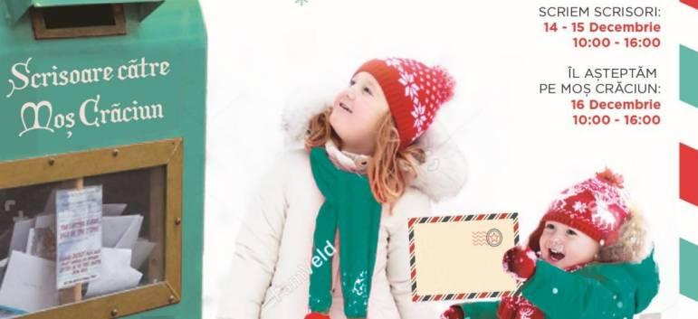 Scrie-i lui Moș Crăciun și Moșul îți aduce cadoul