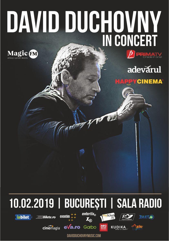 Concertul David Duchovnyareo noualocatie!