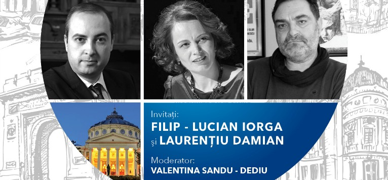 Filip - Lucian Iorga și Laurențiu Damian sunt invitații unei noi ediții Round Table București