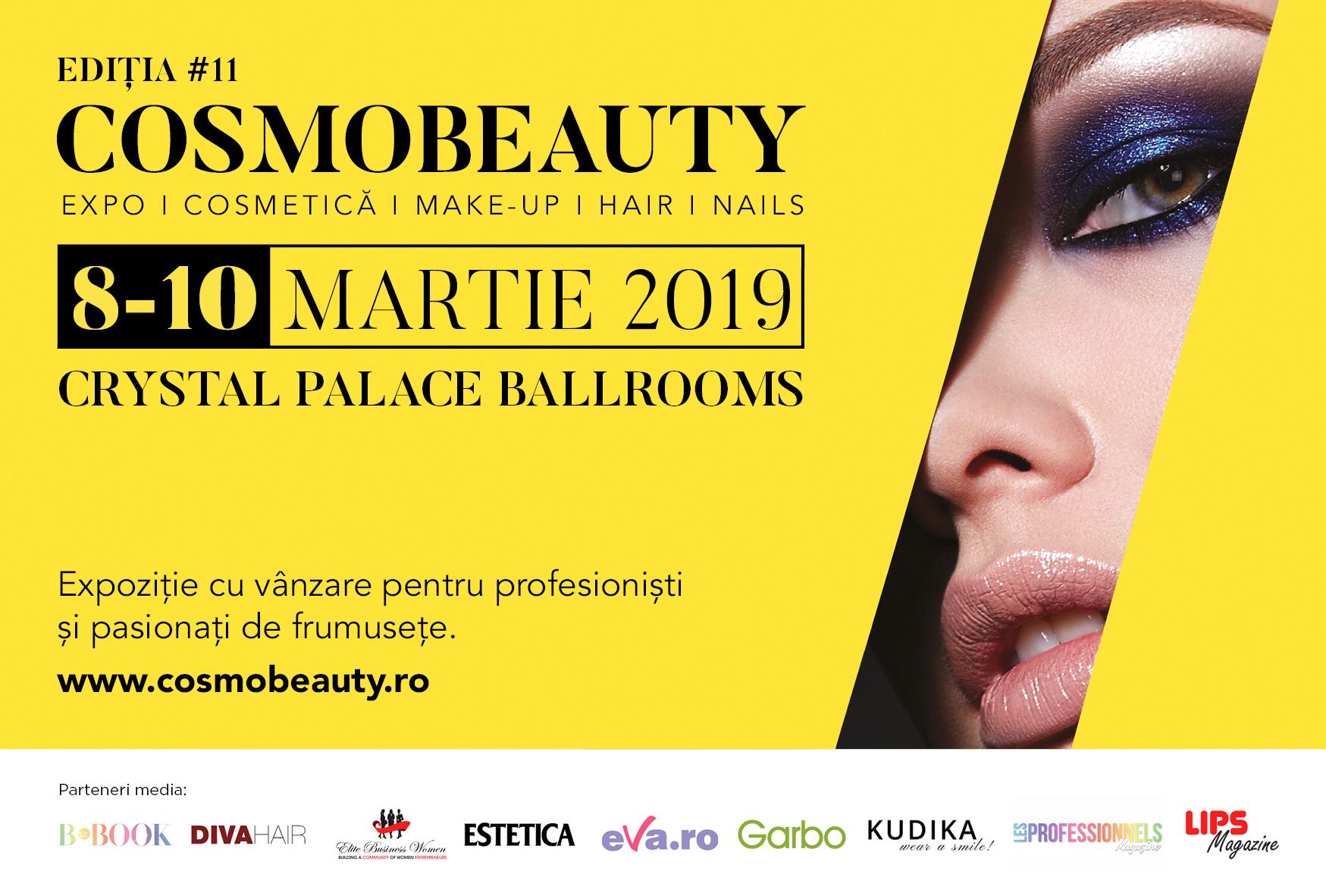 Industria Beauty isi da intalnire in martie la Cosmobeauty!