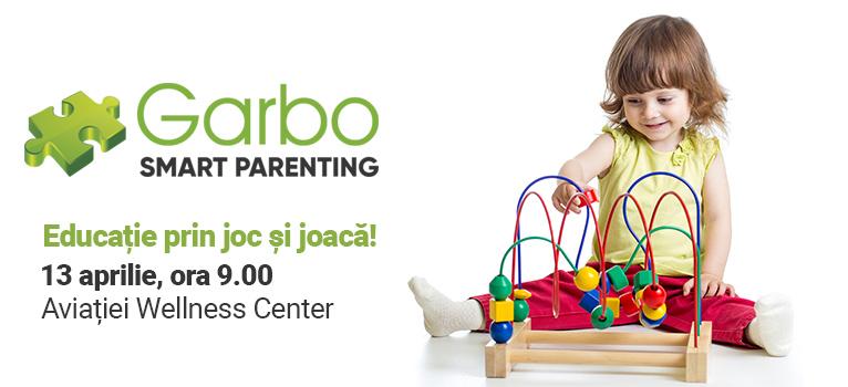 Ești în căutare de jucării și jocuri educative? Vino la Garbo Smart Parenting!