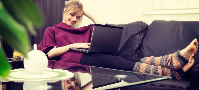 5 idei pentru a fi mai eficienta atunci cand lucrezi de acasa