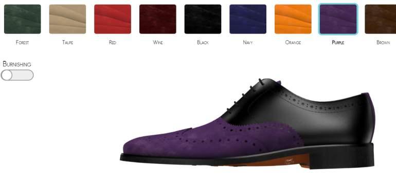 Tudor Tailor a lansat o aplicatie prin care sa-ti faci propriul design de pantofi la comanda