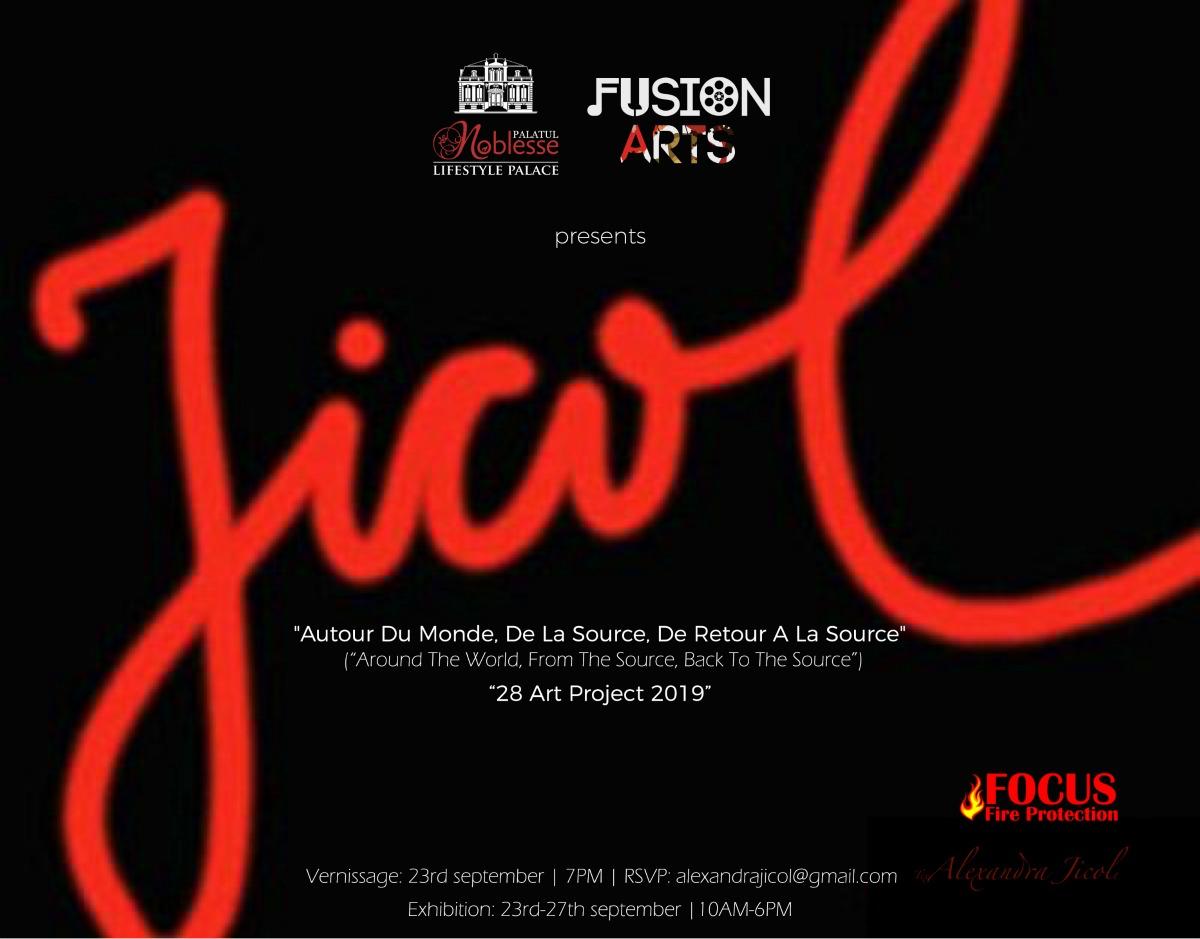 Fusion Arts si Palatul Noblesse prezinta prima expozitie de arta in Romania a artistei internationale Alexandra Jicol