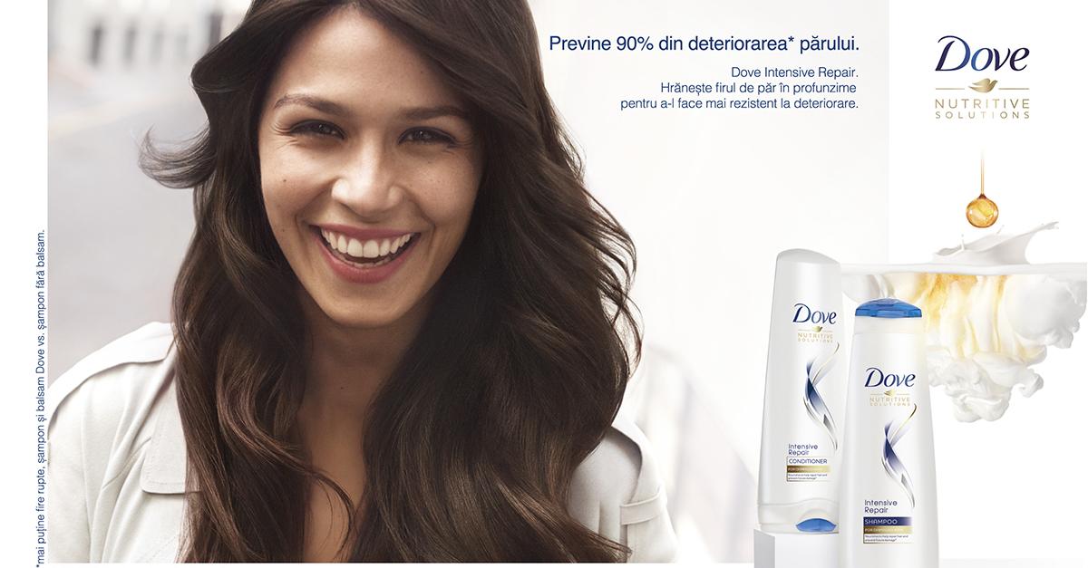Ai grijă de părul tău cu gama Dove Nutritive Solutions