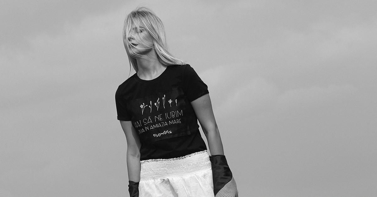 Tricouri cu personalitate si iubire by Ana Popenco: descopera o colectie cu emotie