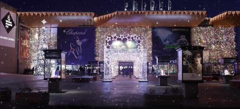 În luna decembrie, în Băneasa Shopping City ninge ca în povești!