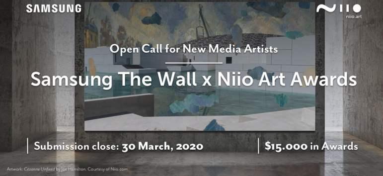 Samsung & Niio Art lanseaza o competitie globala de arta digitala care sarbatoreste artele vizuale pe 'The Wall'