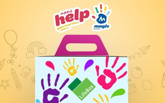 LifeBox va dona 8.000 de meniuri în spitale, prin MagicHELP, proiect al Asociației Magic