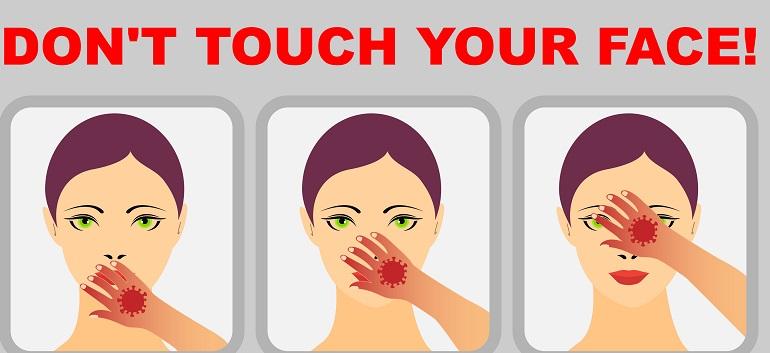 Cum să nu vă atingeți fața - 10 Sfaturi oferite de un medic