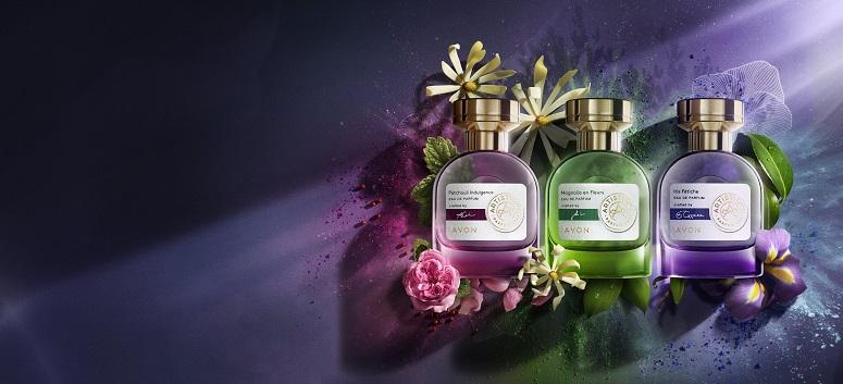 AVON colaborează cu 3 parfumieri francezi de renume mondial care își aduc măiestria în noua colecție Artistique