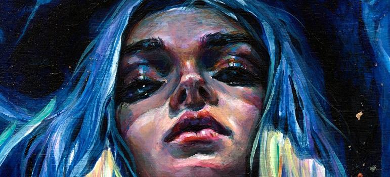 Parul de sirena: 10 exemple de buna purtare a albastrului clasic (culoarea anului!) in par