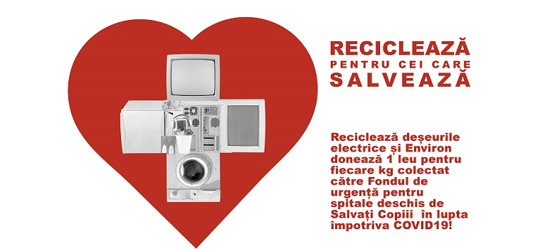 Reciclează pentru cei care salvează!