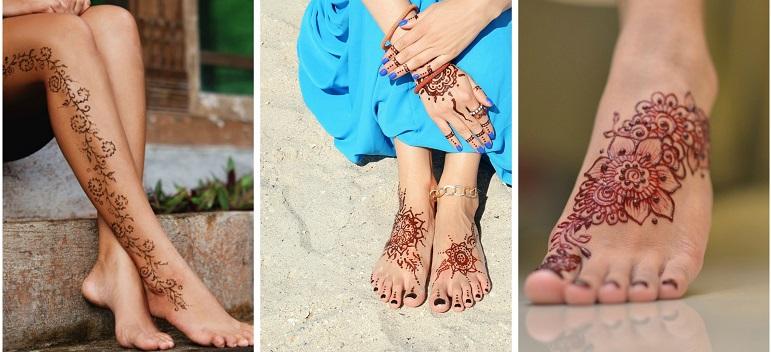 Inspiratie de vara din arta Mehndi: Cele mai frumoase modele decorative de henna pe picioare