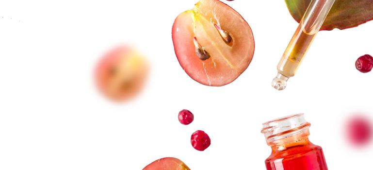 Wine4skin - o colectie capsula de produse de ingrijire pentru fata.